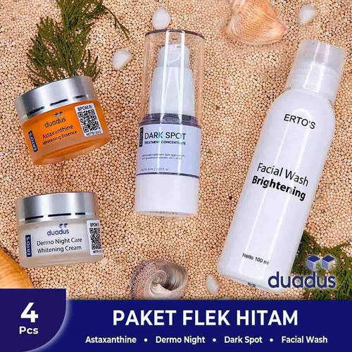 Foto Produk Ertos Paket Flek Hitam Kusam dan Bekas Jerawat dari duadus