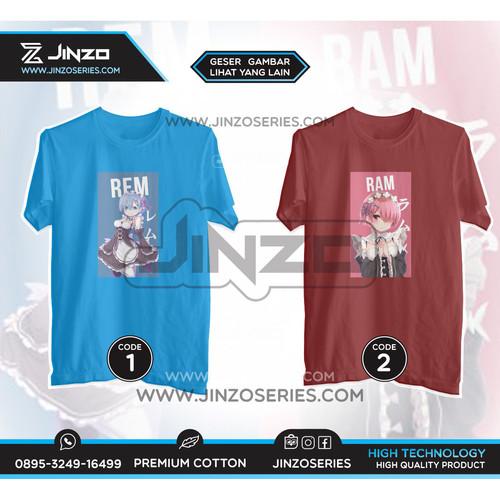 Foto Produk T Shirt Anime Re Zero - M, CODE 1 dari Jinzo Series