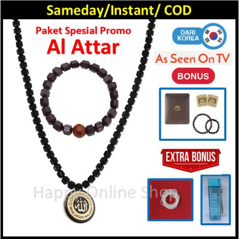 Foto Produk Promo - AL ATHAR Kalung Kesehatan - TASBIH - Black Jade dari Agen Resmi Mega 6