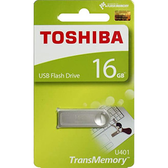 Foto Produk Flashdisk Toshiba U401 16gb 16 gb USB 2.0 USB Flash Drive Metal dari PojokITcom Pusat IT Comp