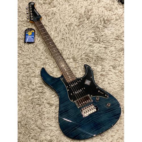 Foto Produk Yamaha Pacifica 612VII Flame Maple in Indigo Blue dari Nafiri Music Store