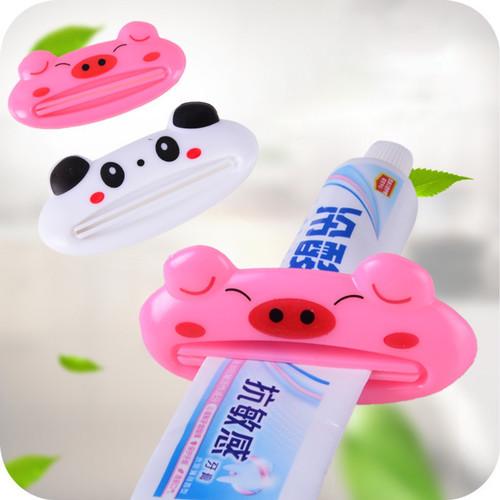 Foto Produk Penjepit Odol Karakter Lucu Dispenser Toothpaste - Alat Pencet Odol - Putih Panda dari MitraBotol