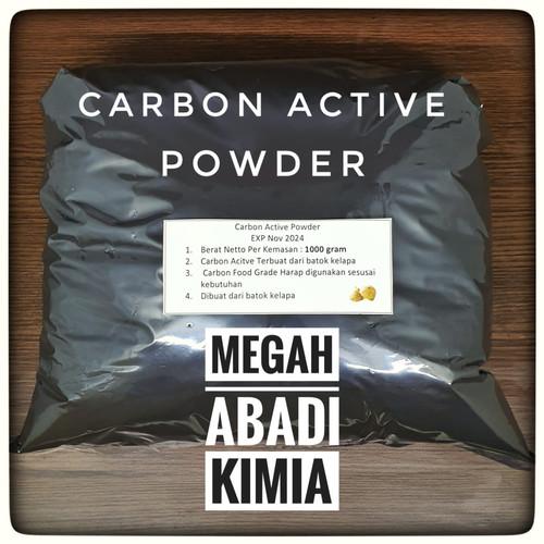 Foto Produk Carbon Active / karbon aktif / Activated Charcoal / powder / 1KG dari Megah Abadi Chem
