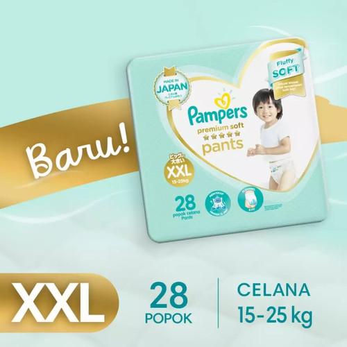 Foto Produk PAMPERS Popok Celana XXL 28 Premium Soft XXL28 XXL-28 Tipe Pants dari amac store