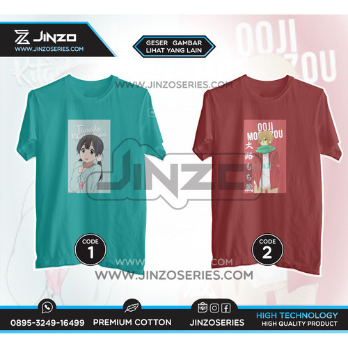 Foto Produk T Shirt Anime Tamako Market - M, CODE 1 dari Jinzo Series