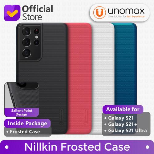 Foto Produk Hard Case Samsung Galaxy S21 / Plus / Ultra Nillkin Frosted Casing - Peacock Blue, Galaxy S21 dari unomax