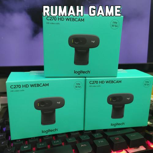 Foto Produk Logitech Webcam C270 HD dari Rumah Game