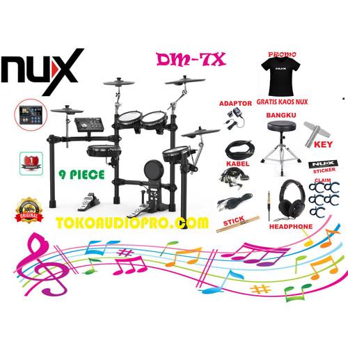 Foto Produk nux dm7x dm-7x dm 7x drum elektrik dari tokoaudioprocom