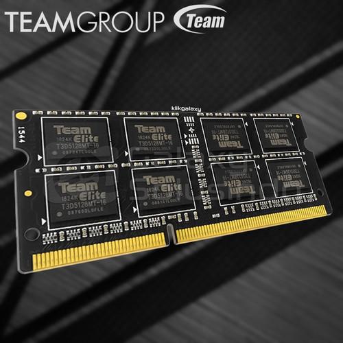 Foto Produk Memory RAM Laptop TEAM ELITE SODIMM 4GB DDR3 PC12800 1600Mhz dari GASOL