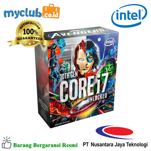 Foto Produk Intel Processor CORE i7-10700KA dari Myclub