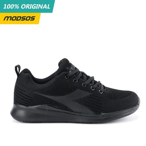 Foto Produk Sepatu Pria Diadora Alfio Sneakers Mono Black Original dari Modsos