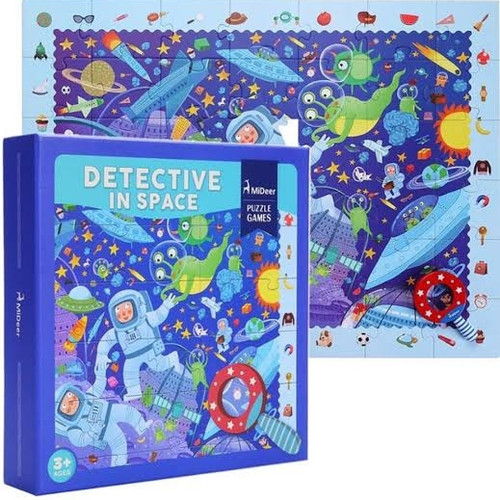 Foto Produk Mideer puzzle detective theme - in Space dari Times Bookstore