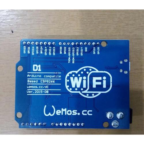 Foto Produk WeMos D1 R2 WiFi uno based ESP8266, Arduino Compatible dari toko_murah.com