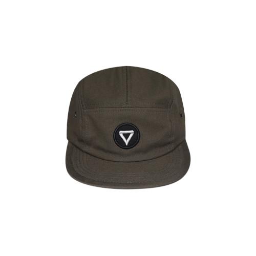 Foto Produk VIBES - OLIVE BASIC LOGO - 5 PANEL CAP dari Vibes Apparel
