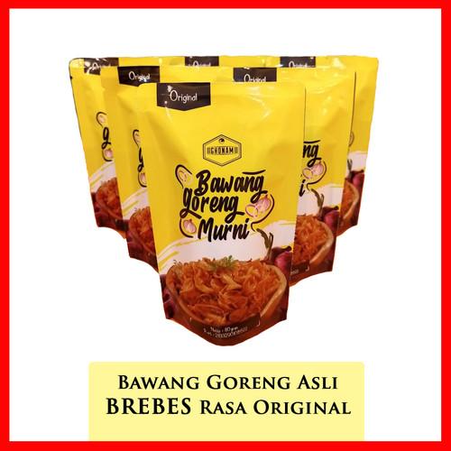 Foto Produk Bawang Goreng Original Brebes Kemasan Praktis 80 Gr Sealed dari kampoengutan