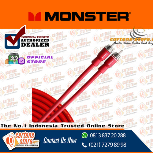 Foto Produk KABEL RCA MONSTER MCA 350i 5 METER by CartensStore dari Cartens Store