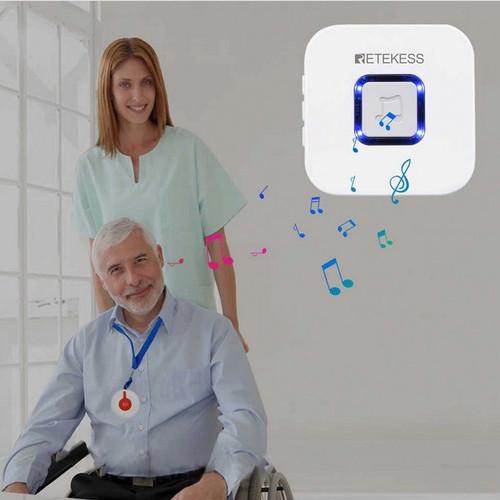 Foto Produk Tombol panggil dengan bel alarm lampu untuk Pasien,Orang tua, Homecare dari EtalaseBelanja