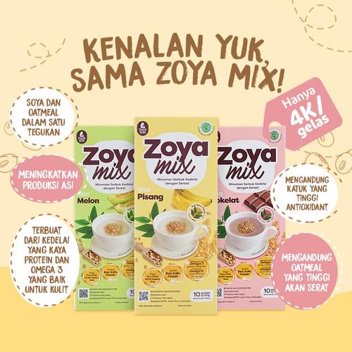 Foto Produk ZOYAMIX zoya mix minuman pelancar asi mamabear - Zoya Pisang dari jerukbali