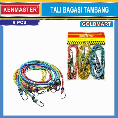 Foto Produk TALI BAGASI MOTOR 6 PCS / TALI KARET MOTOR / PENGIKAT BARANG SERBAGUNA dari Gold-Mart