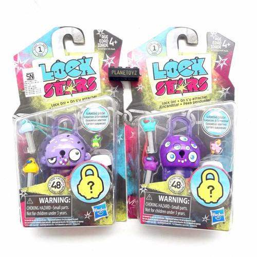Foto Produk Lock Star key Seri 1 Mainan kunci gembok anak aksesoris tas sepatu dari bermain_id