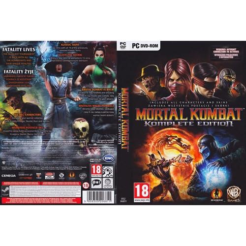 Foto Produk Mortal Kombat Komplete Edition - PC GAME 2DVD dari Homebase