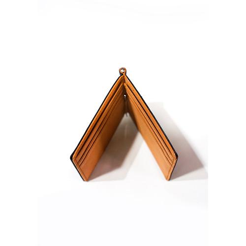 Foto Produk Money Clip Wallet Dompet Kulit Pria Klip hitam coklat dari House of Cuff