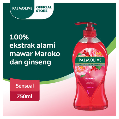 Foto Produk Palmolive Aroma Therapy Sensual Shower Gel 750ml (113647) dari Colgate Palmolive