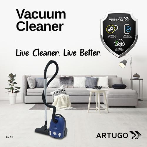 Foto Produk ARTUGO Vacuum Cleaner AV 15 dari ARTUGO official store