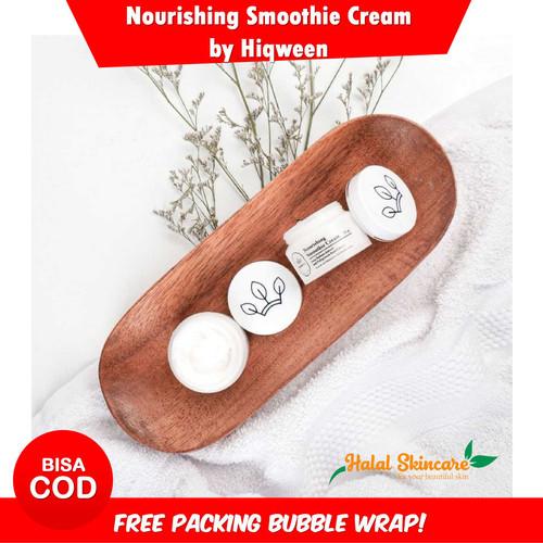 Foto Produk Hiqween Nourish Smoothie Cream Wajah Bpom dari HalalSkincare
