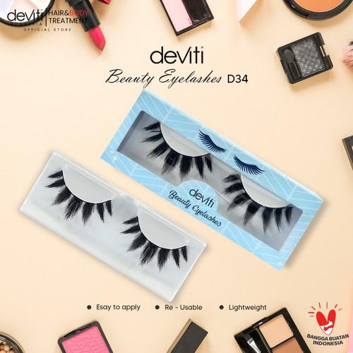 Foto Produk Deviti Bulu Mata 3D Handmade (D34) dari Deviti Indonesia