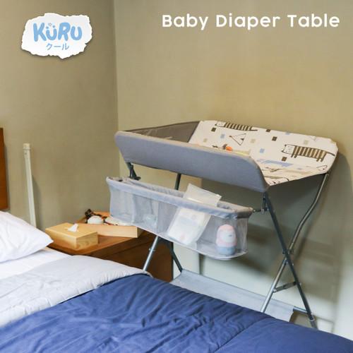Foto Produk KURU Meja Tempat Ganti Popok Bayi   Baby Changing Diaper Table dari bobo baby shop