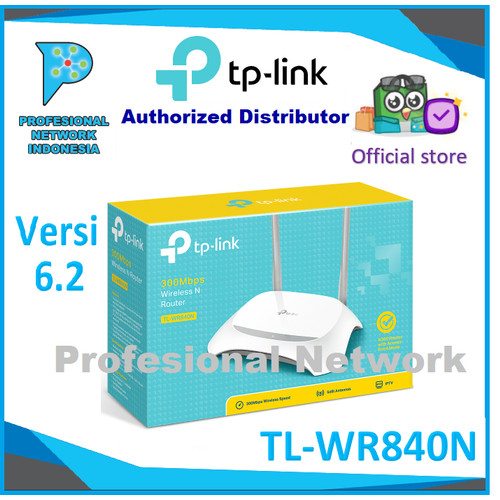 Foto Produk TP-LINK TL-WR840N 300Mbps Wireless N Router dari Profesional Network.PT