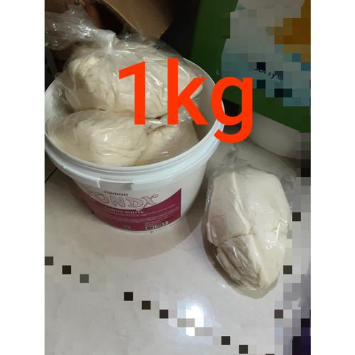 Foto Produk Fondx virgin white, fondant of excellent repack 1kg dari Just Me Shop