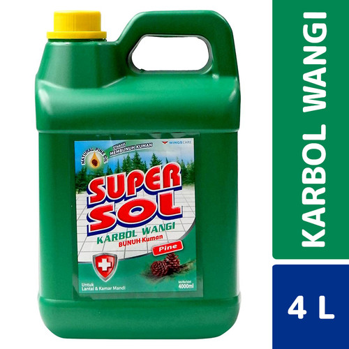 Foto Produk Super Sol Karbol Wangi 4 Liter dari Mesinlaundry
