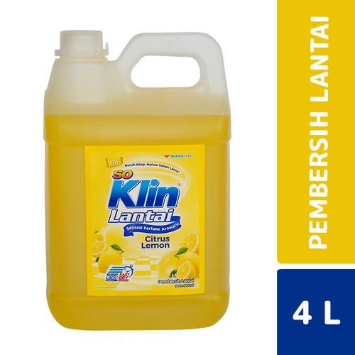 Foto Produk So Klin Lantai Citrus Lemon 4 Liter dari Mesinlaundry