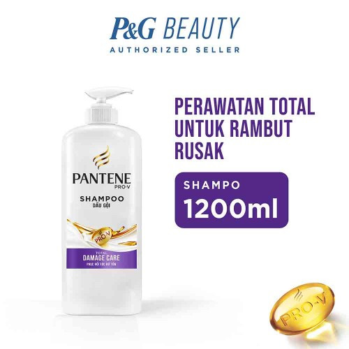 Foto Produk Pantene Shampoo Total Damage Care 1200 ml dari farmaku