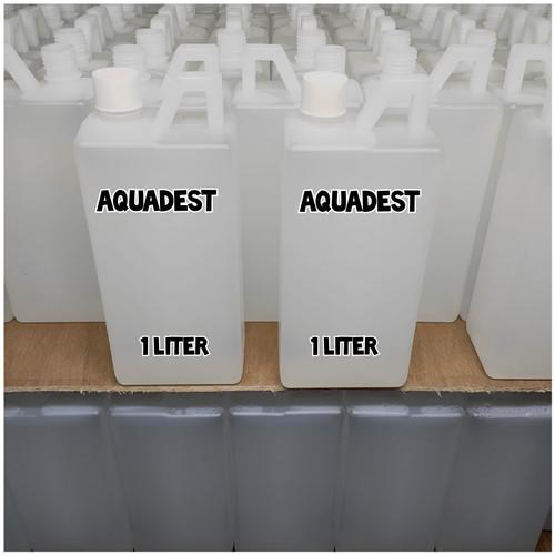 Foto Produk Aquadest 1 Liter / Air Suling / Destilled Water dari Kimia Store..!