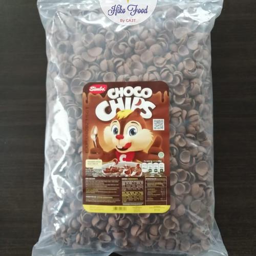 Foto Produk Choco Chips Simba Bulky Richeese Nabati 1Kg Murah Kualitas Terbaik dari HikoFood