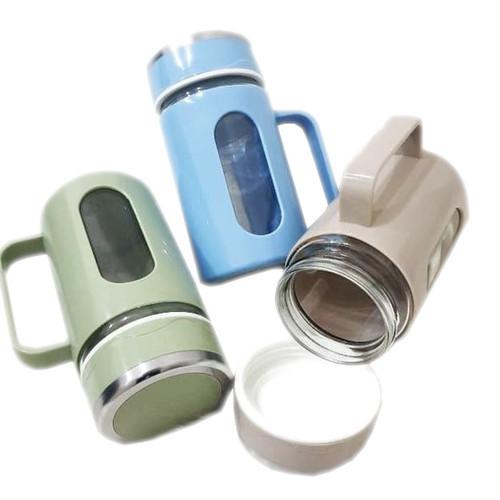 Foto Produk Botol Minum Kaca - Tumbler Kaca 400ml - 8801 dari AbadinternasionalTrading