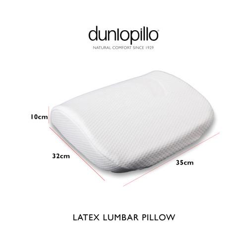 Foto Produk Dunlopillo Seat Cushion (Bantal Kesehatan Punggung) 38x34x8 cm - Putih dari DUNLOPILLO