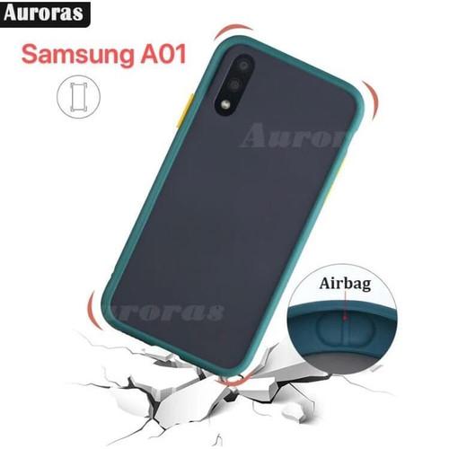 Foto Produk Case Samsung Galaxy A01 Casing Cover Samsung Galaxy a01 Hitam dari Yusuf acc