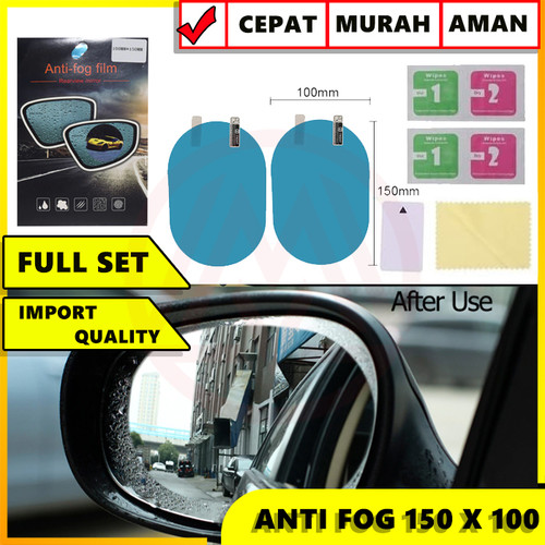 Foto Produk STIKER ANTI FOG ANTI GORES ANTI AIR ANTI HUJAN 100 X 150MM SUPER BESAR dari Modifikasi Market