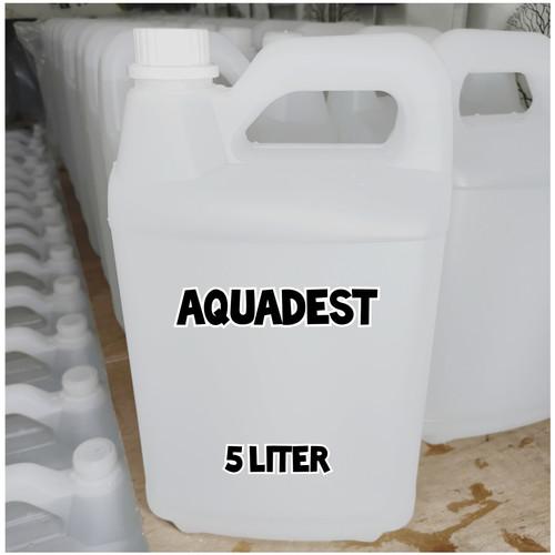 Foto Produk Aquadest 5 Liter / Air Suling / Destilled Water dari Kimia Store..!