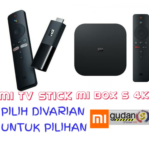 Foto Produk XIAOMI MI BOX S - MIBOX 4 GLOBAL MDZ-22-AB - MIBOX ANDROID TV dari gudangponsel999