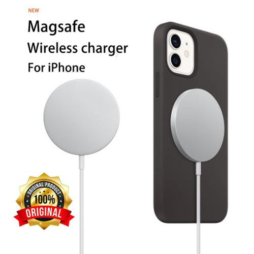 Foto Produk Apple MagSafe Charger 20W Wireless Charging for iPhone 12 AirPods Pro dari ParagonJaya