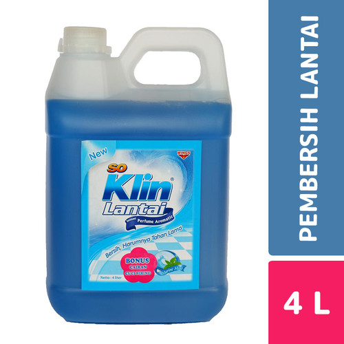 Foto Produk So Klin Lantai Marine Mint 4 Liter dari Mesinlaundry