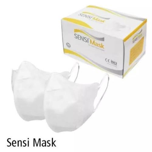 Foto Produk SENSI MASKER DUCKBILL (PER BOX) dari TokoTensi