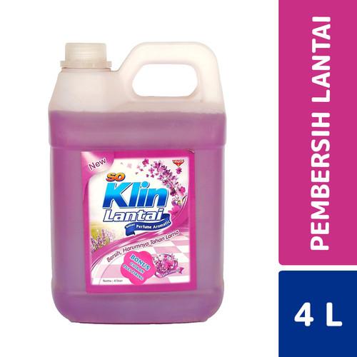 Foto Produk So Klin Lantai Floral Lavender 4 Liter dari Mesinlaundry