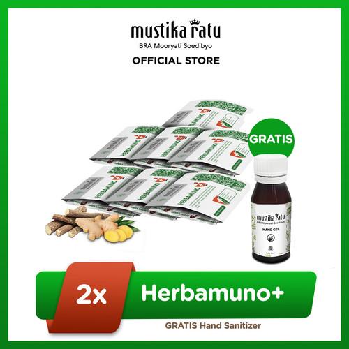 Foto Produk Herbamuno+ Immune Modulator Weekly Pack Free Hand Sanitizer dari Mustika Ratu