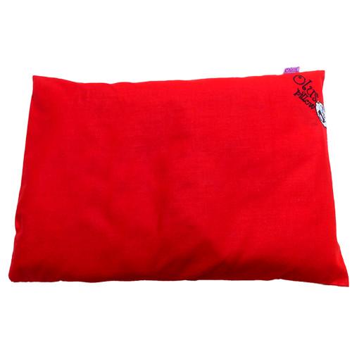 Foto Produk Bantal Bayi Olus Pillow Anti Peyang Bantal kulit kacang hijau - Merah dari MO BABY GOODS KIDS GOODS